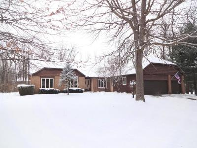 Reynoldsburg Single Family Home Contingent Finance And Inspect: 7862 Country Brook Lane