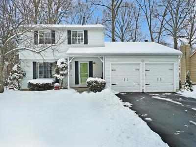 Westerville Single Family Home Contingent Finance And Inspect: 1052 Brimley Place