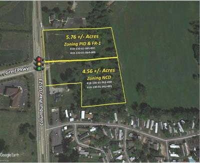 Lewis Center Residential Lots & Land For Sale: 5143 Columbus Pike