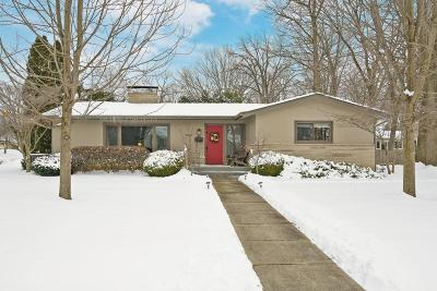 Upper Arlington Single Family Home Contingent Finance And Inspect: 3184 Herrick Road
