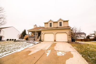 Pickerington Single Family Home Contingent Finance And Inspect: 597 Courtland Lane