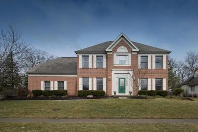 Dublin Single Family Home For Sale: 5584 Fawnbrook Lane