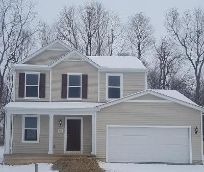 Reynoldsburg Single Family Home Contingent Finance And Inspect: 7424 Rum Cay Lane