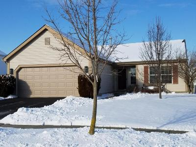 Grove City Single Family Home Contingent Finance And Inspect: 3622 Cove Lake Lane