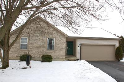 Hilliard Single Family Home Contingent Finance And Inspect: 3779 Carriage Run Drive