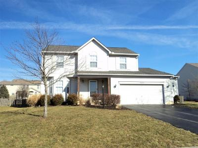 Pickerington Single Family Home Contingent Finance And Inspect: 9290 Harness Place