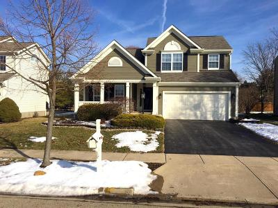 Dublin Single Family Home Contingent Finance And Inspect: 6066 Tuswell Drive