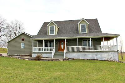 Thornville Single Family Home For Sale: 10634 Somerset Road