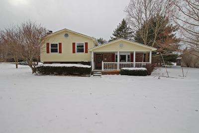 Groveport Single Family Home Contingent Finance And Inspect: 7353 Richardson Road
