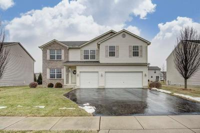 Grove City Single Family Home Contingent Finance And Inspect: 5999 Goldstone Drive