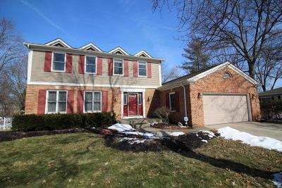Westerville Single Family Home For Sale: 1384 Goldsmith Drive
