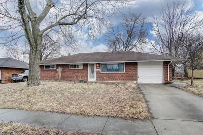 Reynoldsburg Single Family Home Contingent Finance And Inspect: 1436 Terry Drive