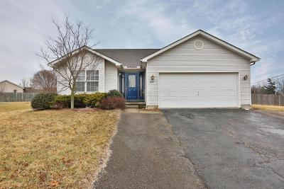 Grove City Single Family Home Contingent Finance And Inspect: 2654 Admiral Drive