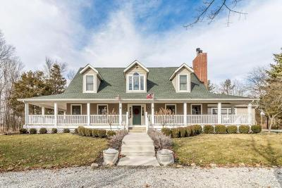 Franklin County, Delaware County, Fairfield County, Hocking County, Licking County, Madison County, Morrow County, Perry County, Pickaway County, Union County Single Family Home For Sale: 6640 Home Road