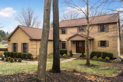 Lewis Center Single Family Home Contingent Finance And Inspect: 8005 Hickory Ridge Court
