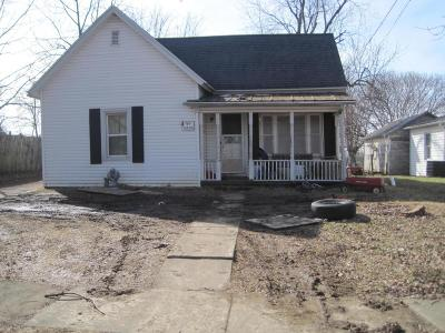 Bloomingburg OH Single Family Home For Sale: $17,500