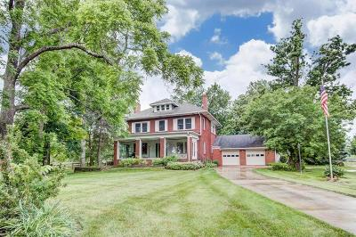 Franklin County, Delaware County, Fairfield County, Hocking County, Licking County, Madison County, Morrow County, Perry County, Pickaway County, Union County Single Family Home For Sale: 2150 Olmstead Road