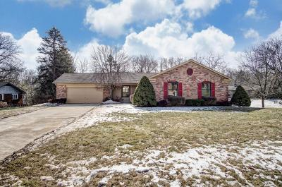 Franklin County, Delaware County, Fairfield County, Hocking County, Licking County, Madison County, Morrow County, Perry County, Pickaway County, Union County Single Family Home For Sale: 945 Stoney Creek Road