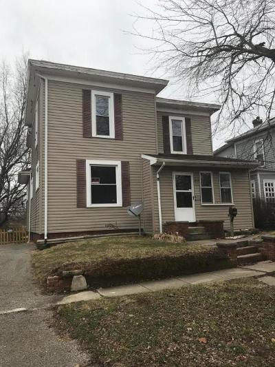 Washington Court House OH Single Family Home For Sale: $86,700
