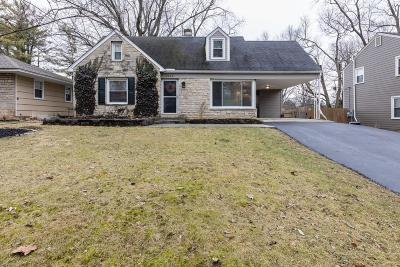 Upper Arlington Single Family Home Contingent Finance And Inspect: 2287 Swansea Road