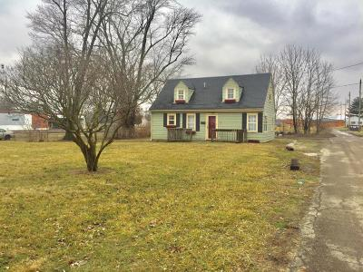 Circleville OH Single Family Home For Sale: $40,000