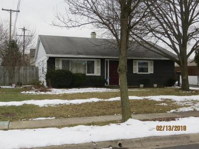 Hilliard Single Family Home Contingent Finance And Inspect: 4795 Hillcrest Street S