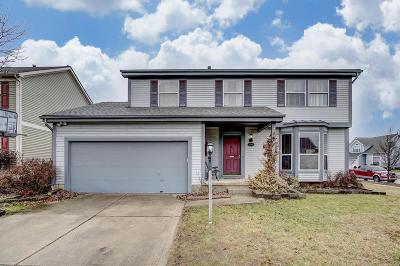Hilliard Single Family Home Contingent Finance And Inspect: 2561 Windflower Road E