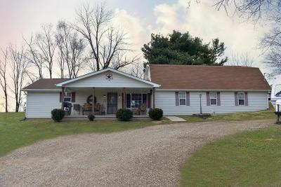 Single Family Home Contingent Finance And Inspect: 5745 Chillicothe Lancaster Road SW