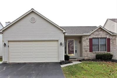 Blacklick Single Family Home Contingent Finance And Inspect: 8237 Sea Star Drive