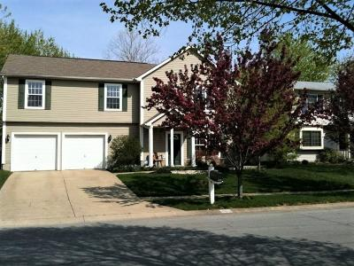 Worthington Single Family Home Contingent Finance And Inspect: 7656 Choctaw Place