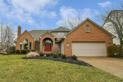 Westerville Single Family Home For Sale: 1160 Hidden Cove Court
