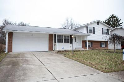Columbus Single Family Home For Sale: 418 Hermitage Road