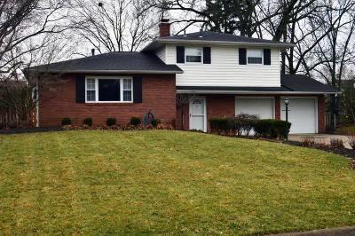 Columbus Single Family Home For Sale: 1491 Candlewood Drive