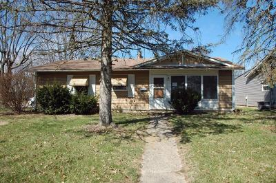 Franklin County, Delaware County, Fairfield County, Hocking County, Licking County, Madison County, Morrow County, Perry County, Pickaway County, Union County Single Family Home For Sale: 7346 Wollam Avenue