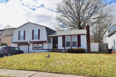 Columbus Single Family Home For Sale: 1851 Ferntree Road