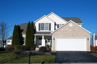 Powell Single Family Home Contingent Finance And Inspect: 7480 Scioto Parkway