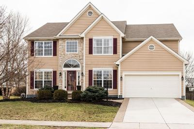 Hilliard Single Family Home Contingent Finance And Inspect: 6119 Joneswood Drive
