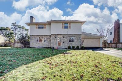 Upper Arlington Single Family Home Contingent Finance And Inspect: 2892 Halstead Road