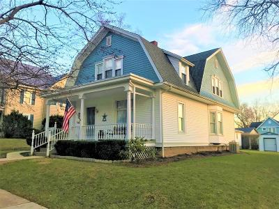 Mount Vernon Single Family Home Contingent Finance And Inspect: 114 E Lamartine Street
