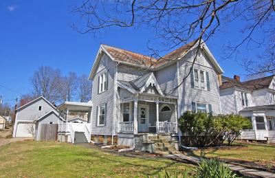 Mount Vernon Single Family Home Contingent Finance And Inspect: 105 E Lamartine Street