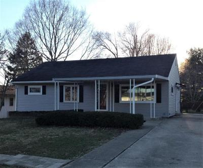 Chillicothe Single Family Home Contingent Finance And Inspect: 368 S Pohlman Road