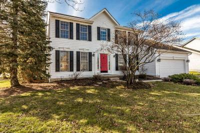 Westerville Single Family Home For Sale: 6186 Sawgrass Way