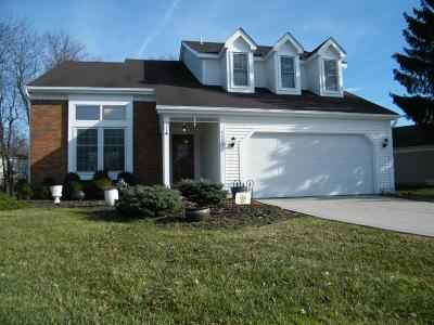 Dublin Single Family Home Contingent Finance And Inspect: 6605 Fallen Timbers Drive