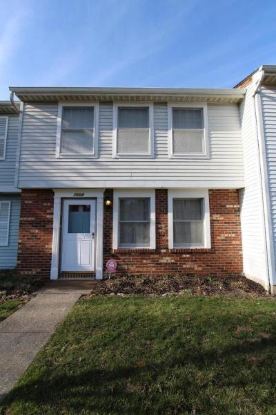 Reynoldsburg Single Family Home Contingent Finance And Inspect: 7508 Stonetrail Way