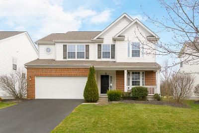 New Albany Single Family Home Contingent Finance And Inspect: 4438 Cohagen Crossing Drive