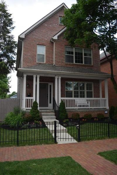 Columbus Single Family Home For Sale: 425 E Sycamore Street