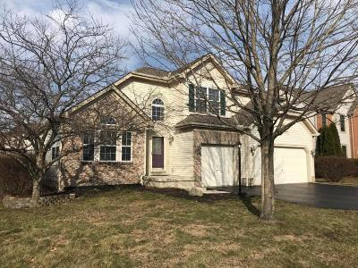 Hilliard Single Family Home Contingent Finance And Inspect: 5490 Old Creek Lane
