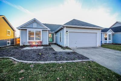 Pickerington Single Family Home Contingent Finance And Inspect: 3085 Alderbrook Drive