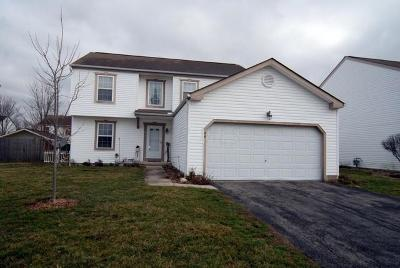 Milford Center Single Family Home Contingent Finance And Inspect: 44 Greenfield Drive