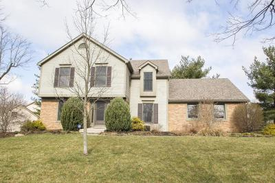 Dublin Single Family Home Contingent Finance And Inspect: 7586 Worsley Place